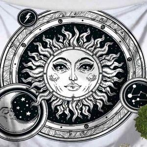 Sun & Moon Bubbles Tapestry